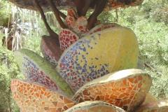 Skulptur des künstlerischen Stadtparks Los Llanos