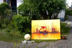 Ausstellung-Silhouette-Kunst-in-Acryl